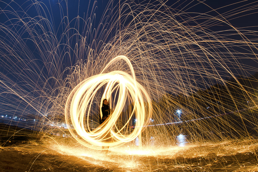 Photograph Steel wool photography by Niyanta Shetye on 500px