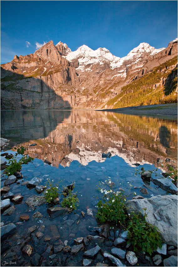 Photograph At the Lake Oeschinen by Jan Geerk on 500px