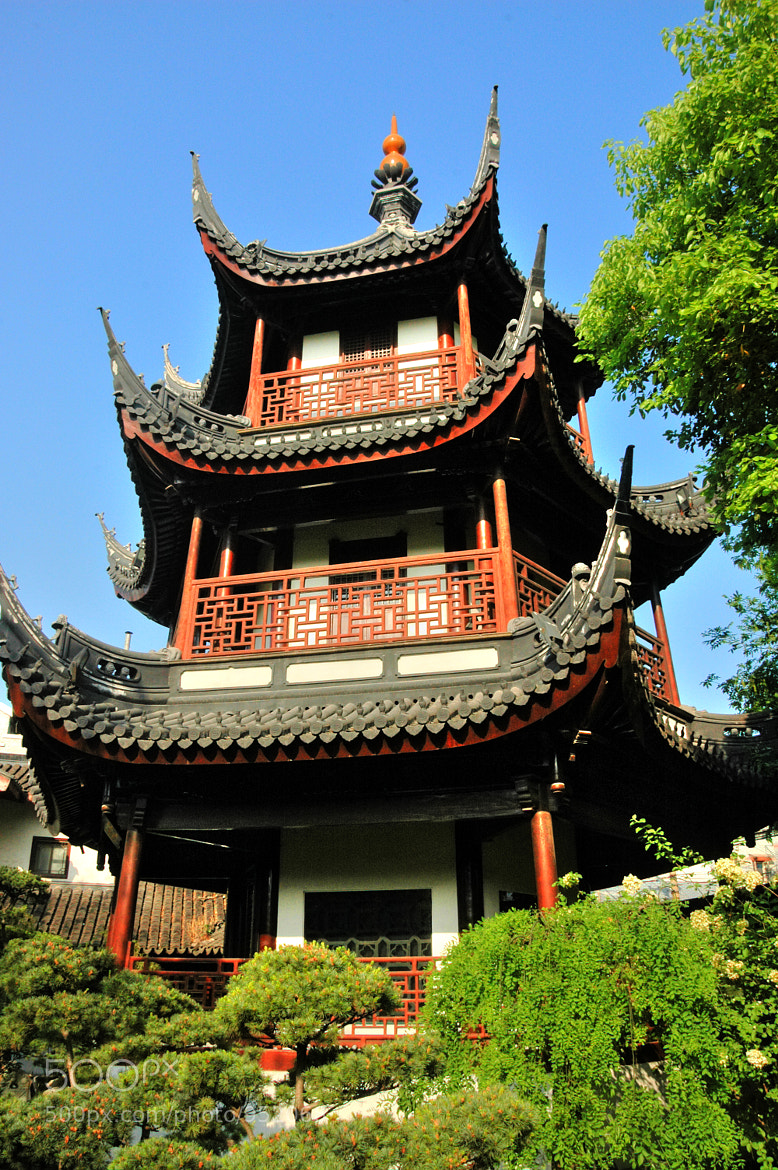 Photograph Pagoda In Confucius Temple by Damien Sharp on 500px