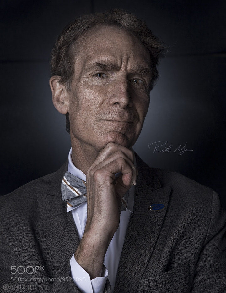 Photograph Bill Nye The Science Guy by DEREK HEISLER on 500px