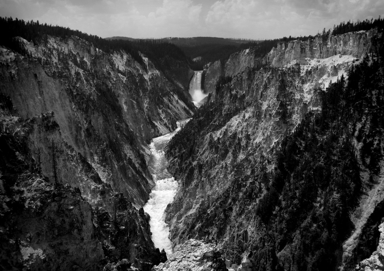 Photograph Lower Falls of the Yellowstone by Clinton Lewis on 500px