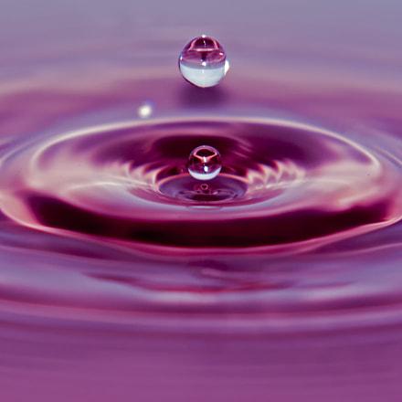 Pink droplet