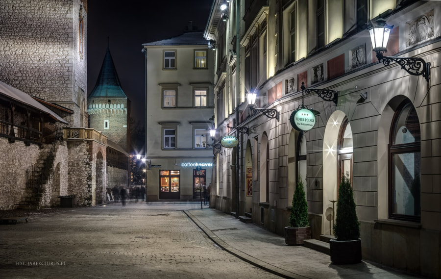 Cracow's street