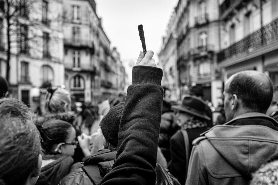 Photograph JE SUIS CHARLIE by KforC Productions • Karl Colonnier on 500px