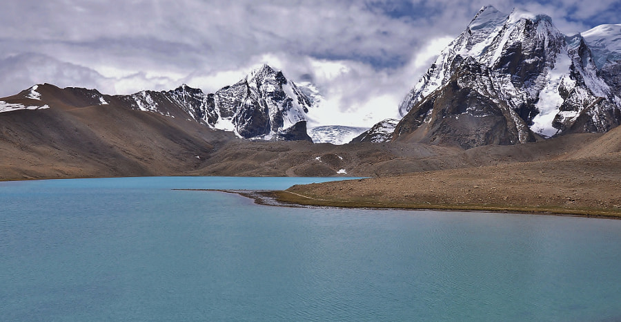 India: Gurudongmar lake at 17k feet by Arthy .. on 500px.com