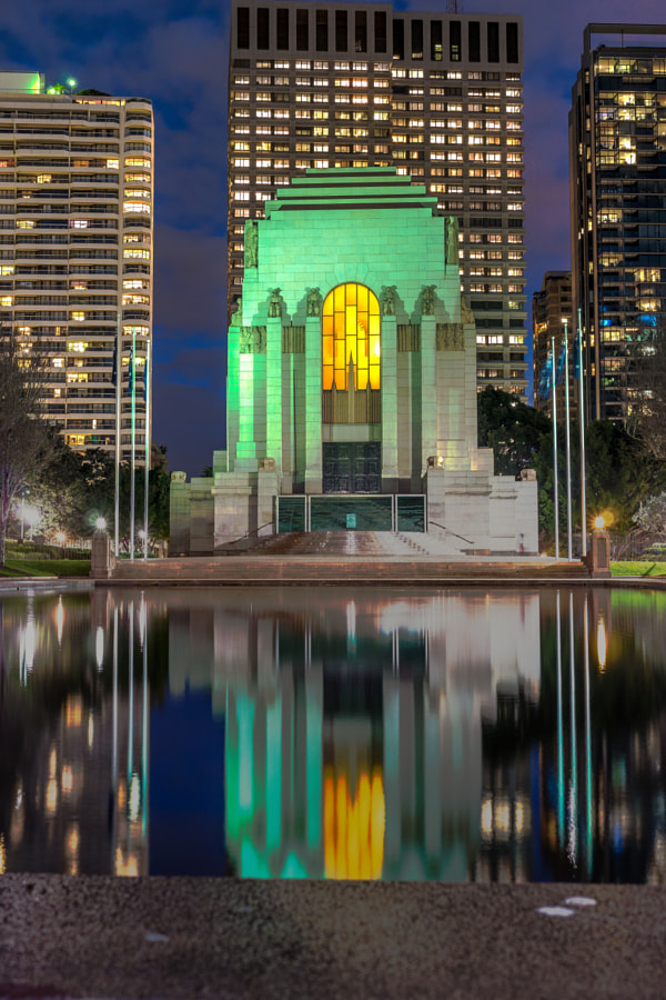 Photograph Anzac Memorial Sydney Australia by Travis Chau on 500px