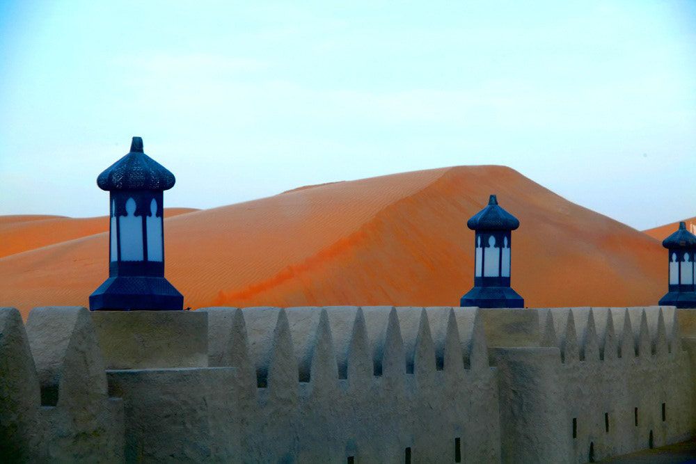 Photograph Castle wall between the sand dunes by Nora Almansoori on 500px
