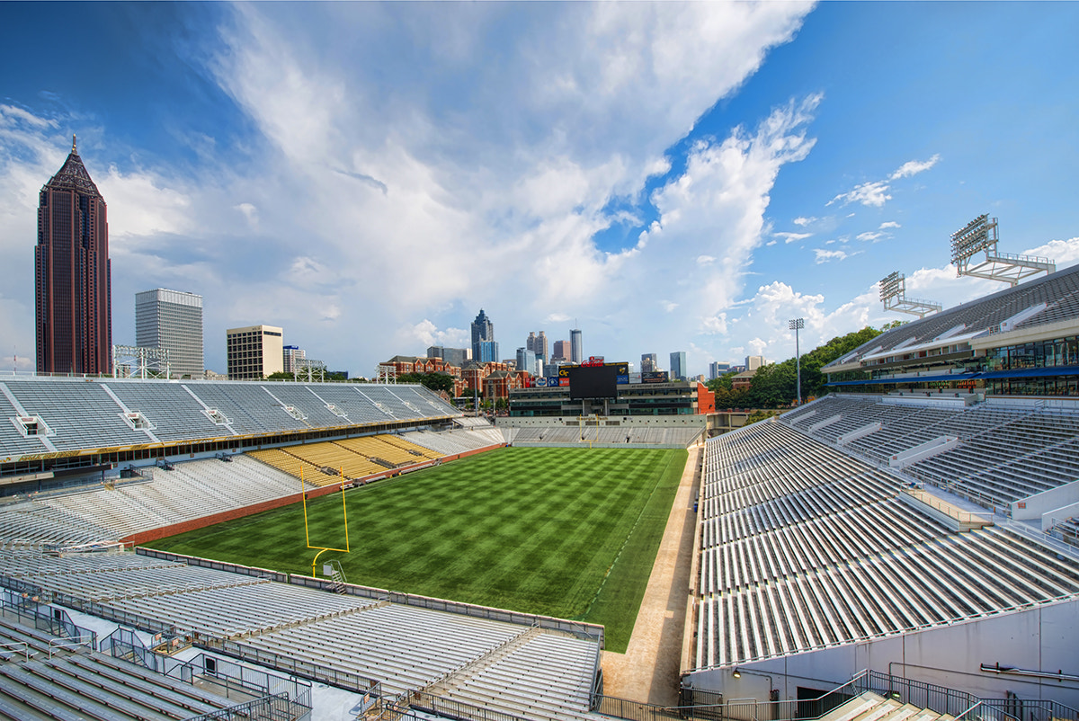 Photograph Bobby Dodd Stadium by David Kosmos Smith on 500px