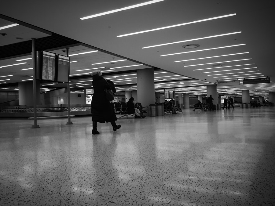 Photograph Lonely arrivals.  by Aliya Weise on 500px