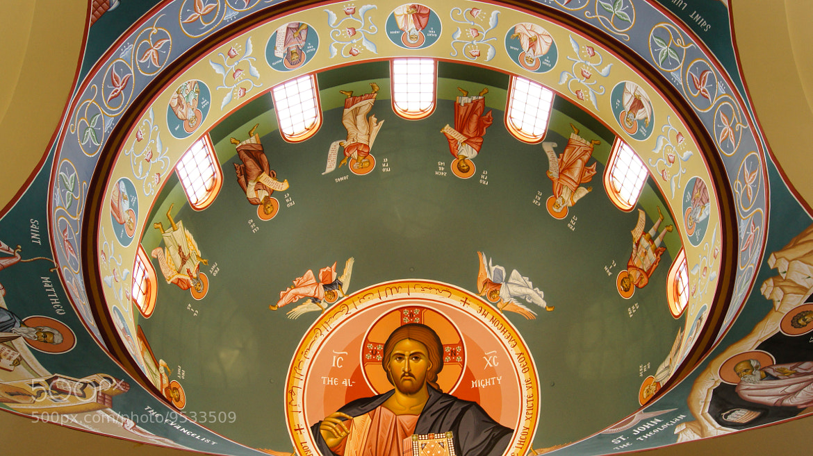 Photograph Saint Andrew's Ceiling by Erik Anderson on 500px
