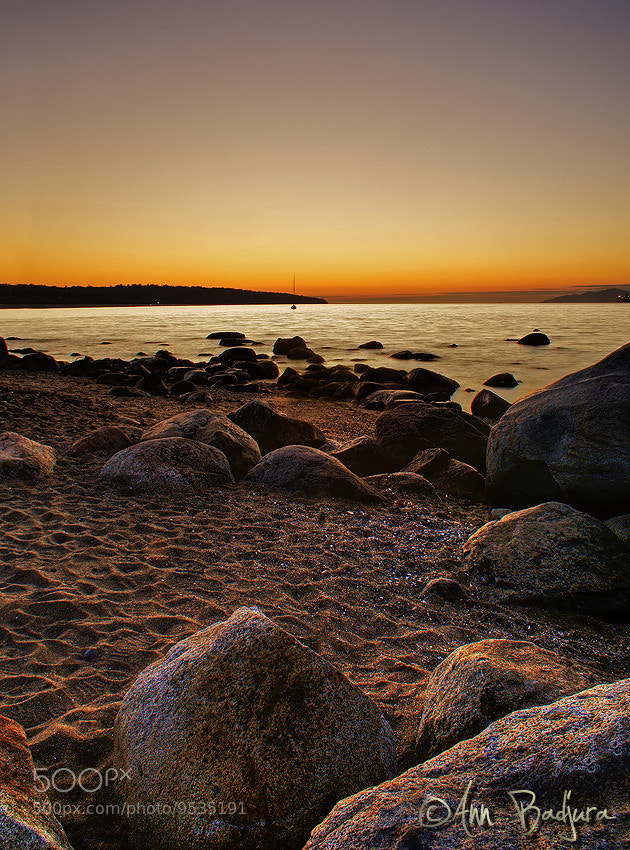 Photograph English Bay sunset by Ann Badjura on 500px