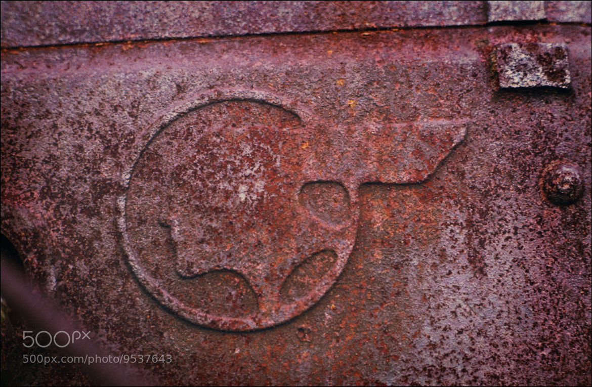 Photograph Rust   Pontiac Casting mark by Terry Letton on 500px