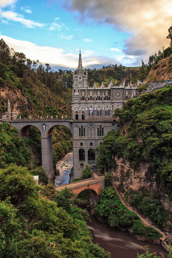 Las Lajas Sanctuary |  Narino, Colombia by Matthias Huber on 500px.com