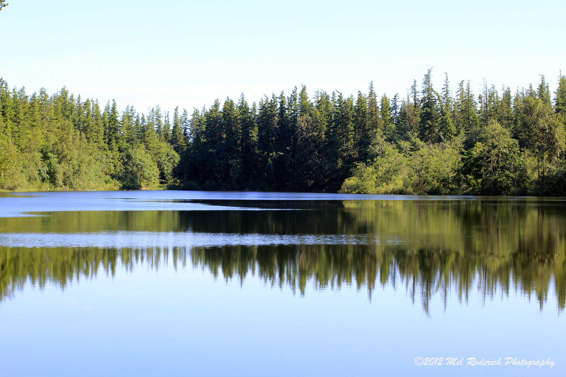 Photograph Reflections On Deep Lake #2 by Mel Roderick on 500px