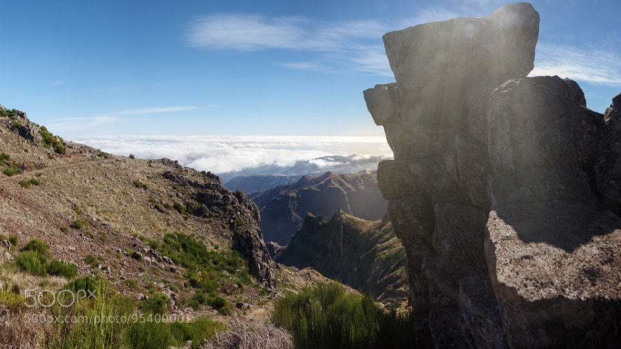 View from Pico do Arieiro