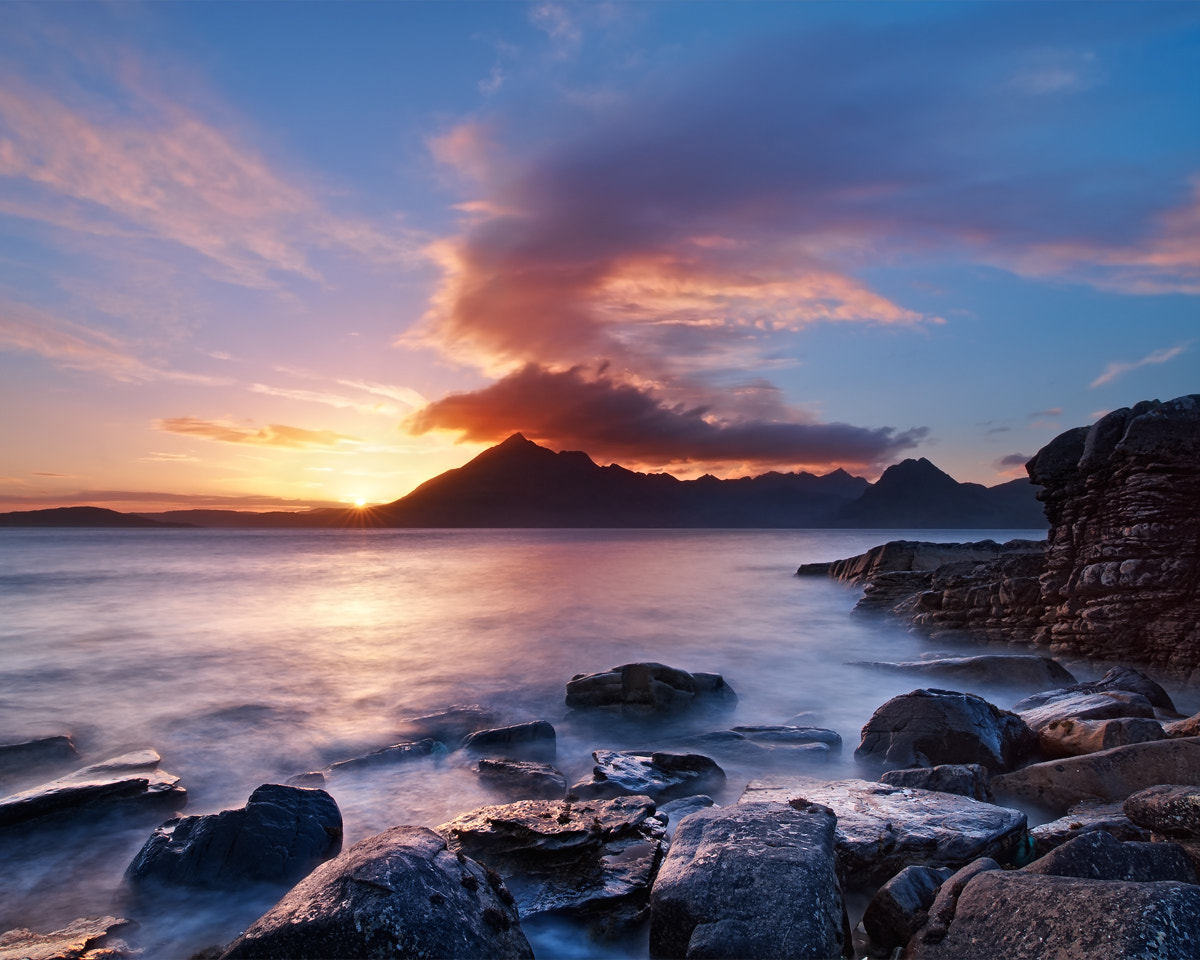 Photograph Elgol Sunset by Michael  Breitung on 500px