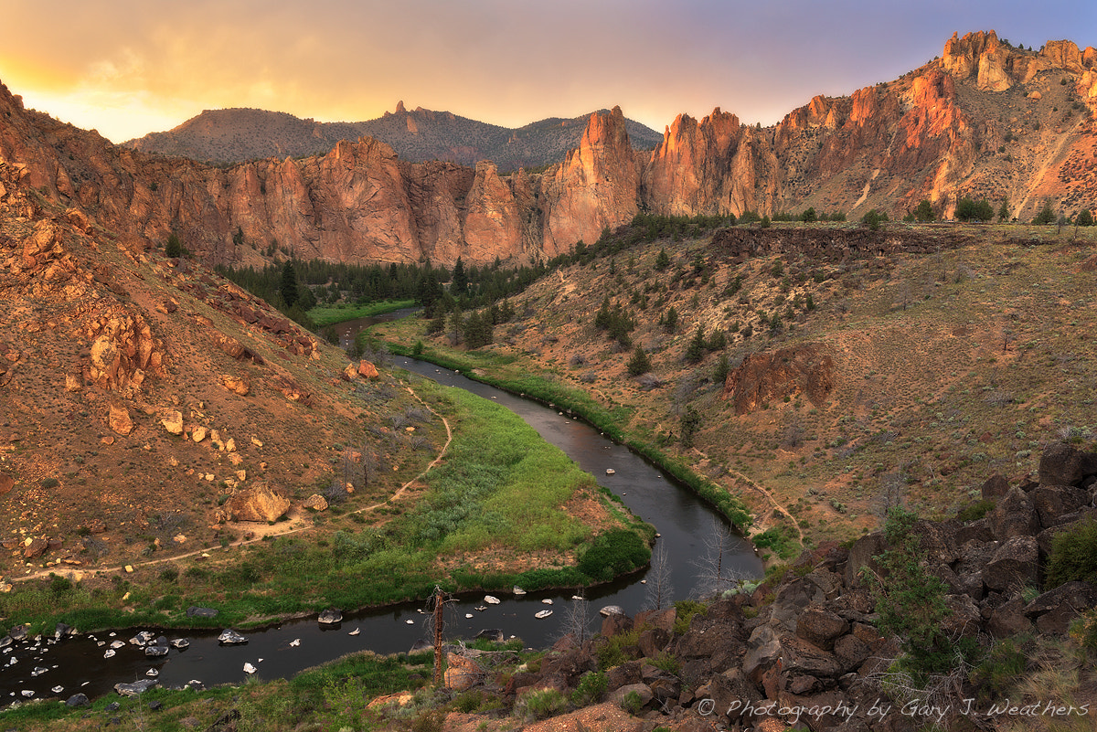 Photograph Golden Sunset at Smith Rock by Gary Weathers on 500px