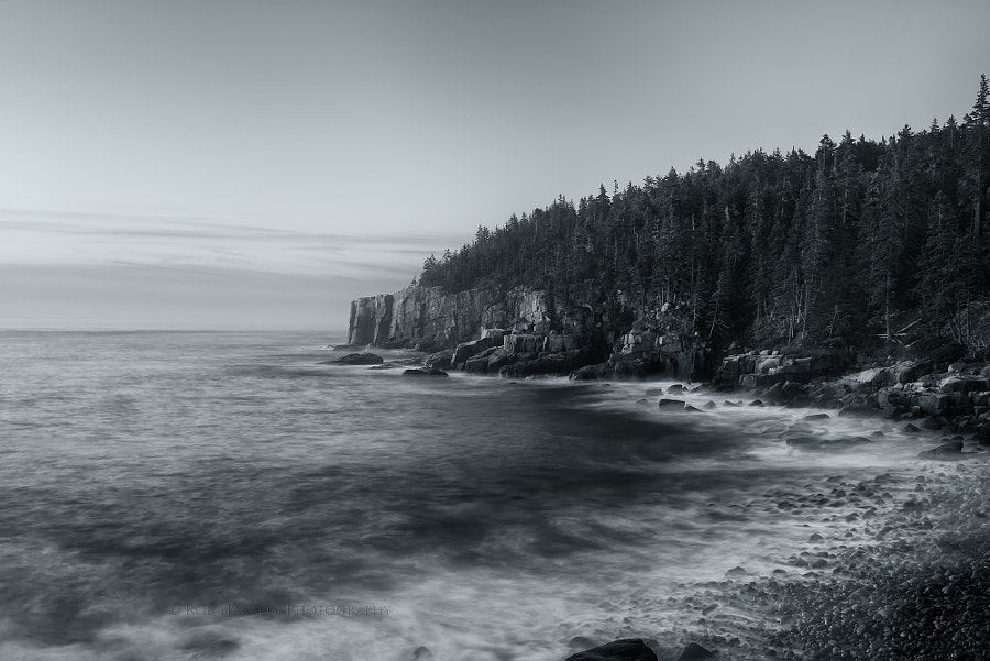 Photograph Otter Cliffs at Acadia National Park, Maine by Rob Hanson on 500px