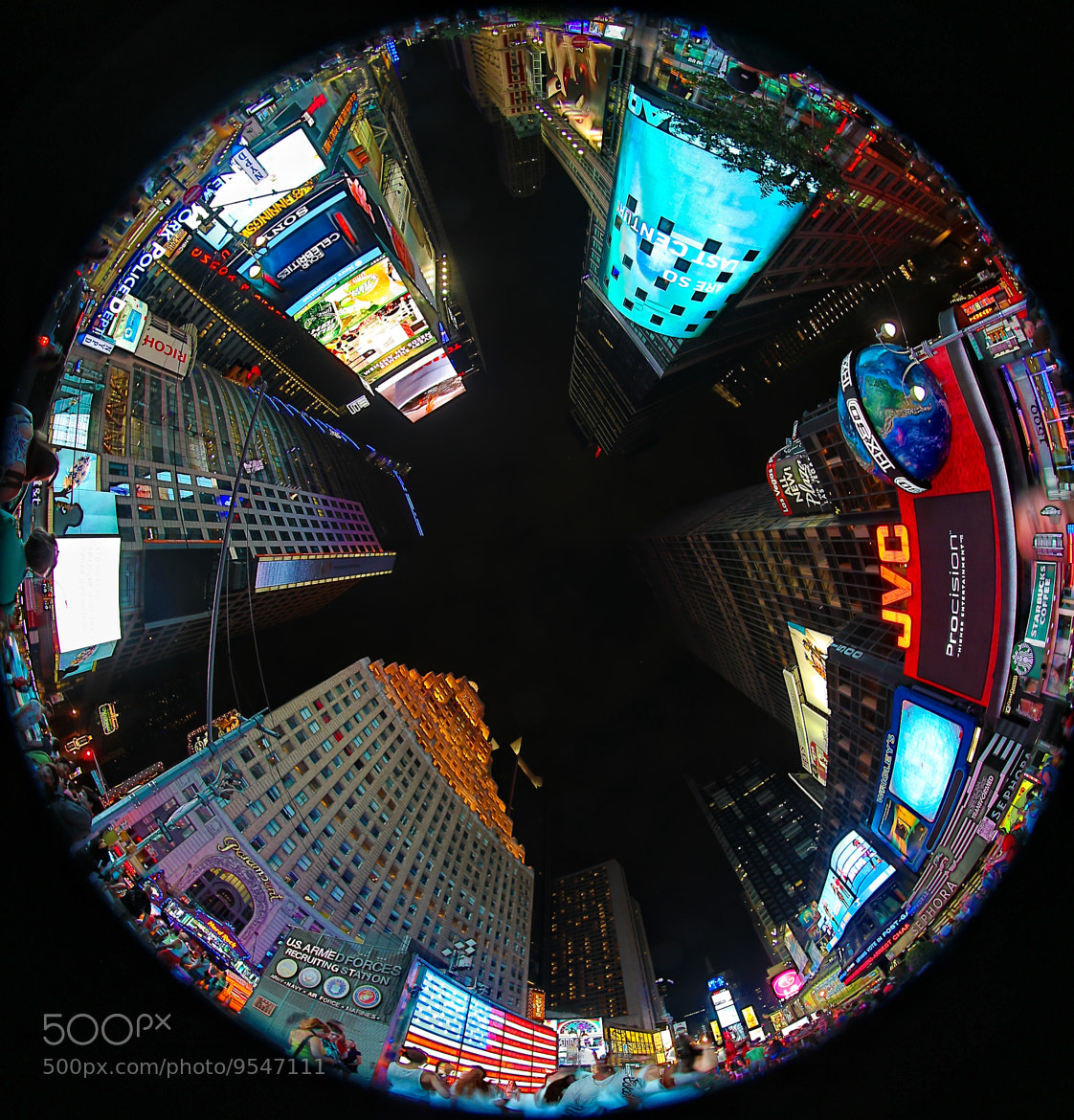 Photograph Times Square by Joseph Calev on 500px