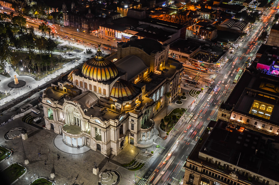 Photograph Palace of fine arts, Mexico City by Rafal Kubiak on 500px