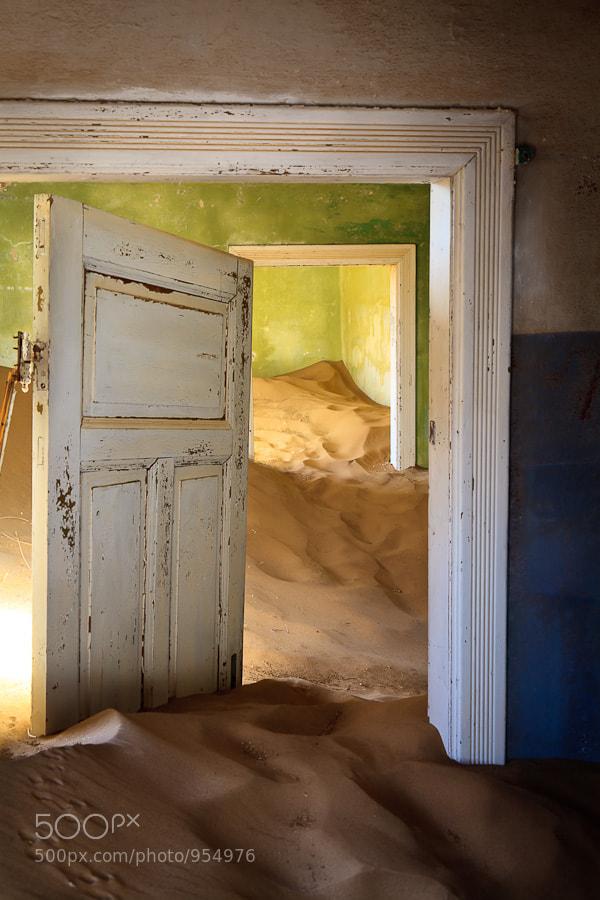 Photograph Namibia - Kolmanskop doors  by Fabrizio Fenoglio on 500px