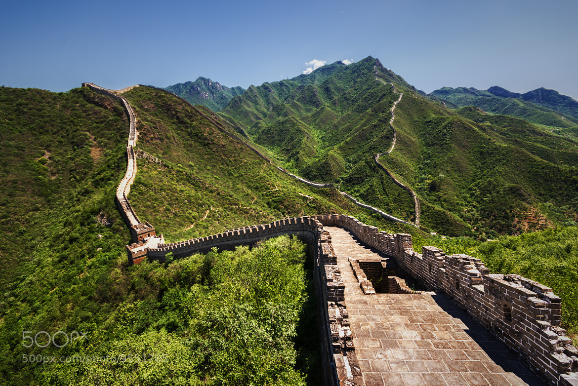 Photograph Great Wall by Rotem Littman on 500px