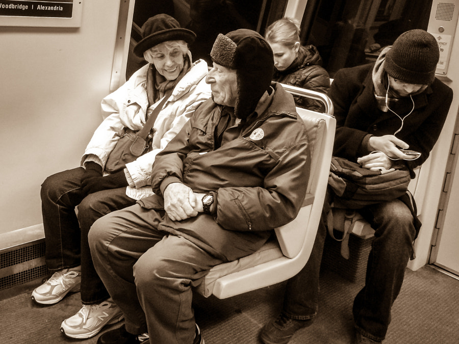 Photograph In Love on the Metro by Andy Roth on 500px