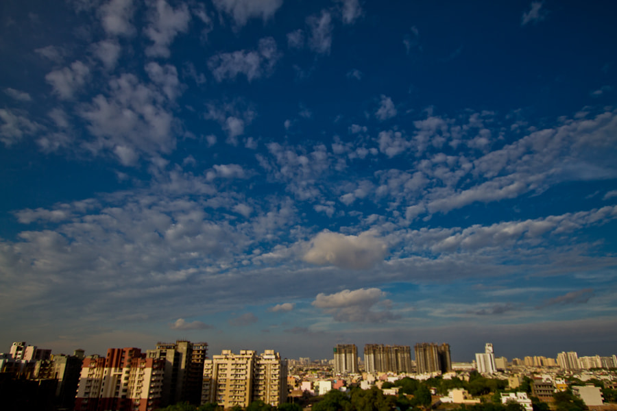 Photograph Gurgaon SKies by Swaminathan iyer on 500px