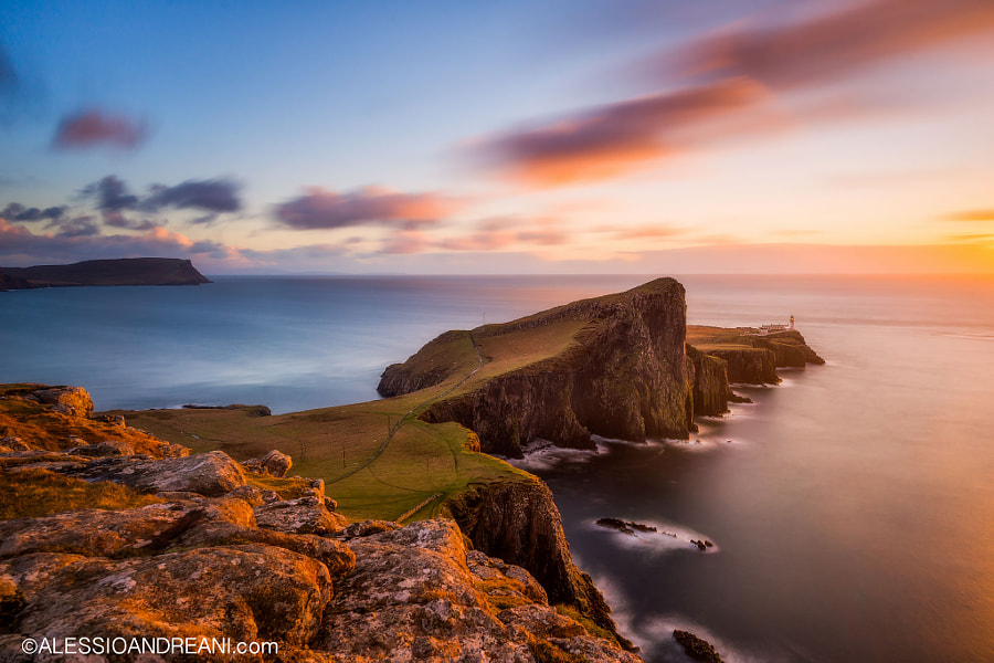 Photograph Neist Light by Alessio Andreani on 500px