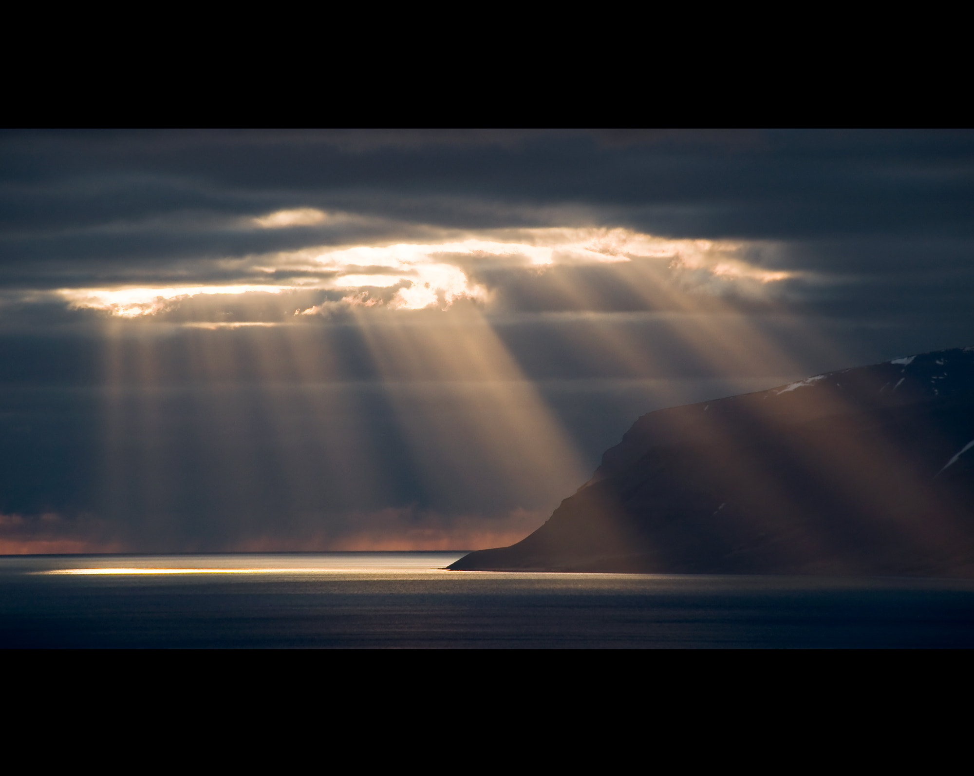 Photograph Westfjords Lightshow by Daniel Bosma on 500px