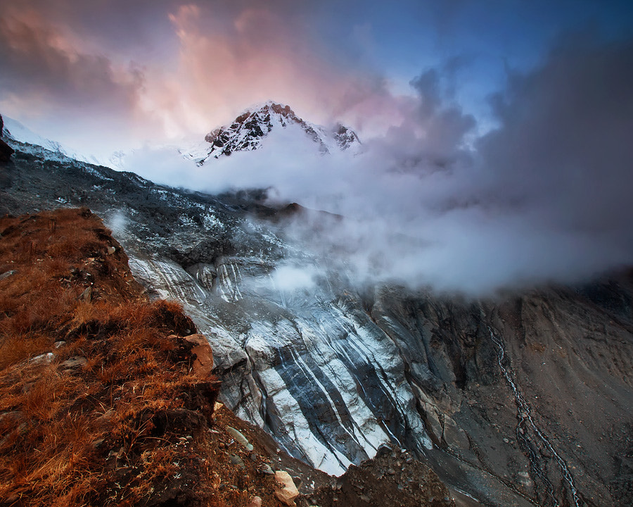 Photograph Glacial Wall by Dylan Toh  & Marianne Lim on 500px