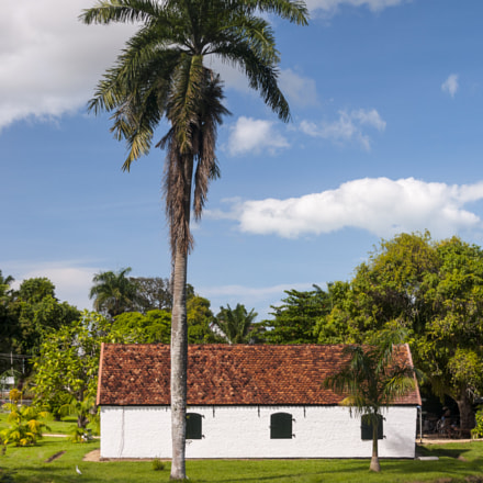 Gunpowderhouse, Fort New Amsterdam, Suriname