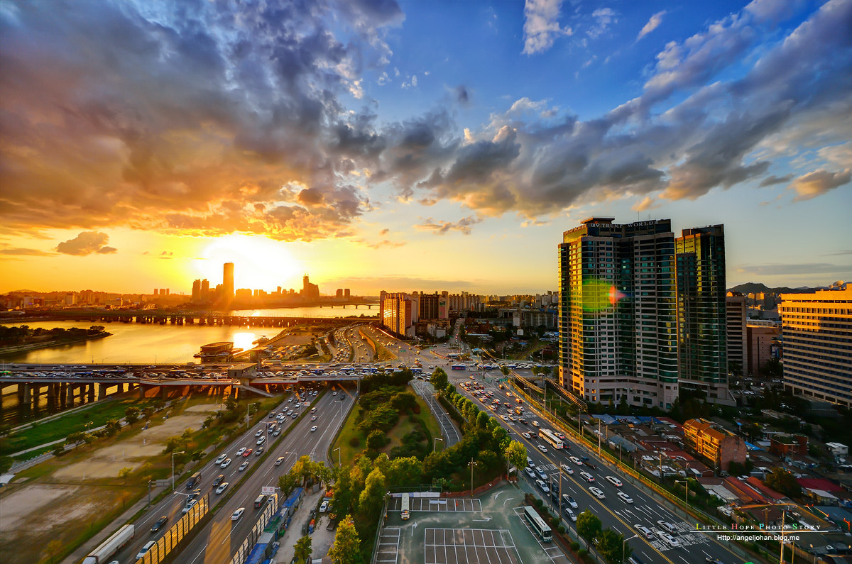 Photograph Han River Sunset by Minsoo Han on 500px