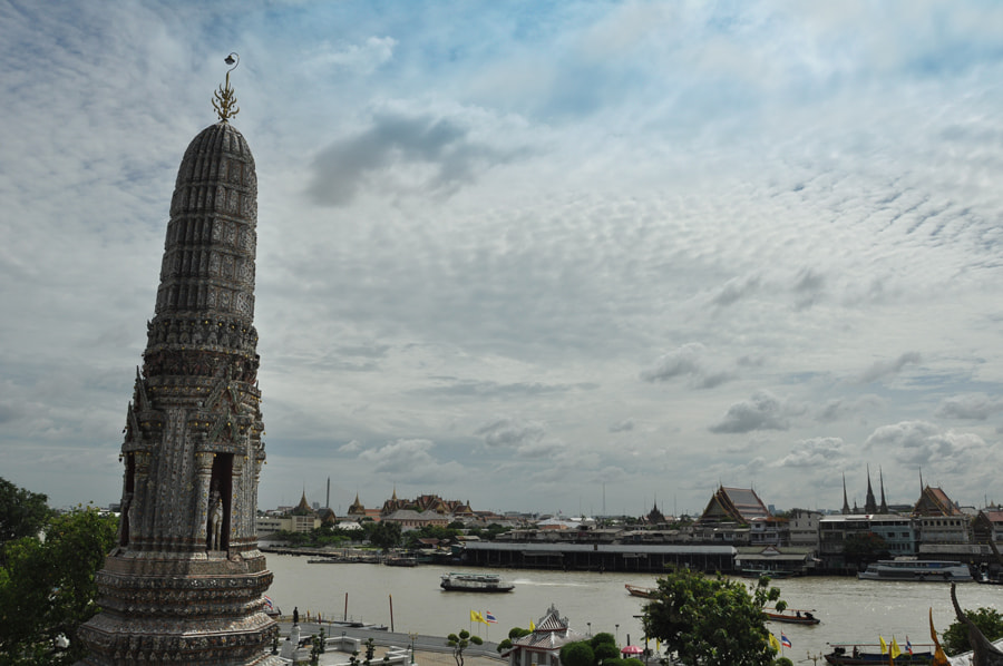 Photograph Top view from Wat Arun by Khoo Boo Chuan on 500px