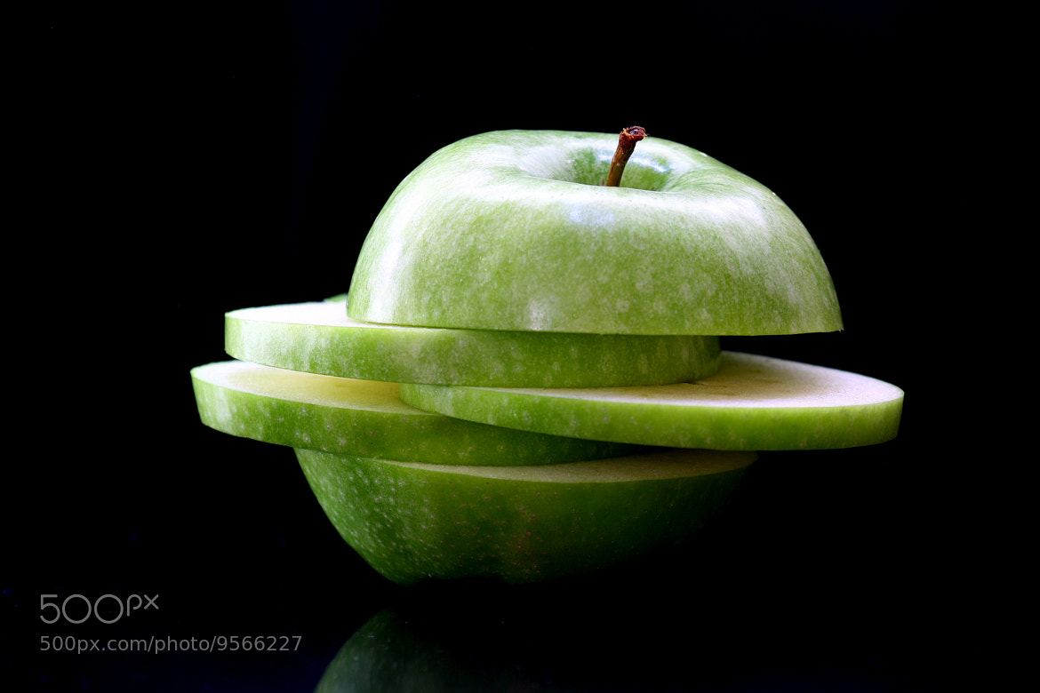 Photograph Sliced Apple by Thomas Schattan on 500px