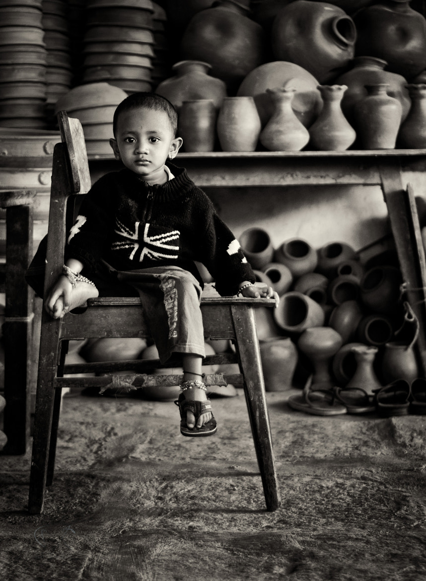 Photograph A Potter's Child by Harshit  Thaker on 500px