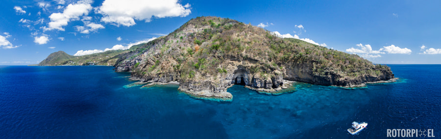 Photograph Dominica Panorama 4 by Keri Wilk on 500px