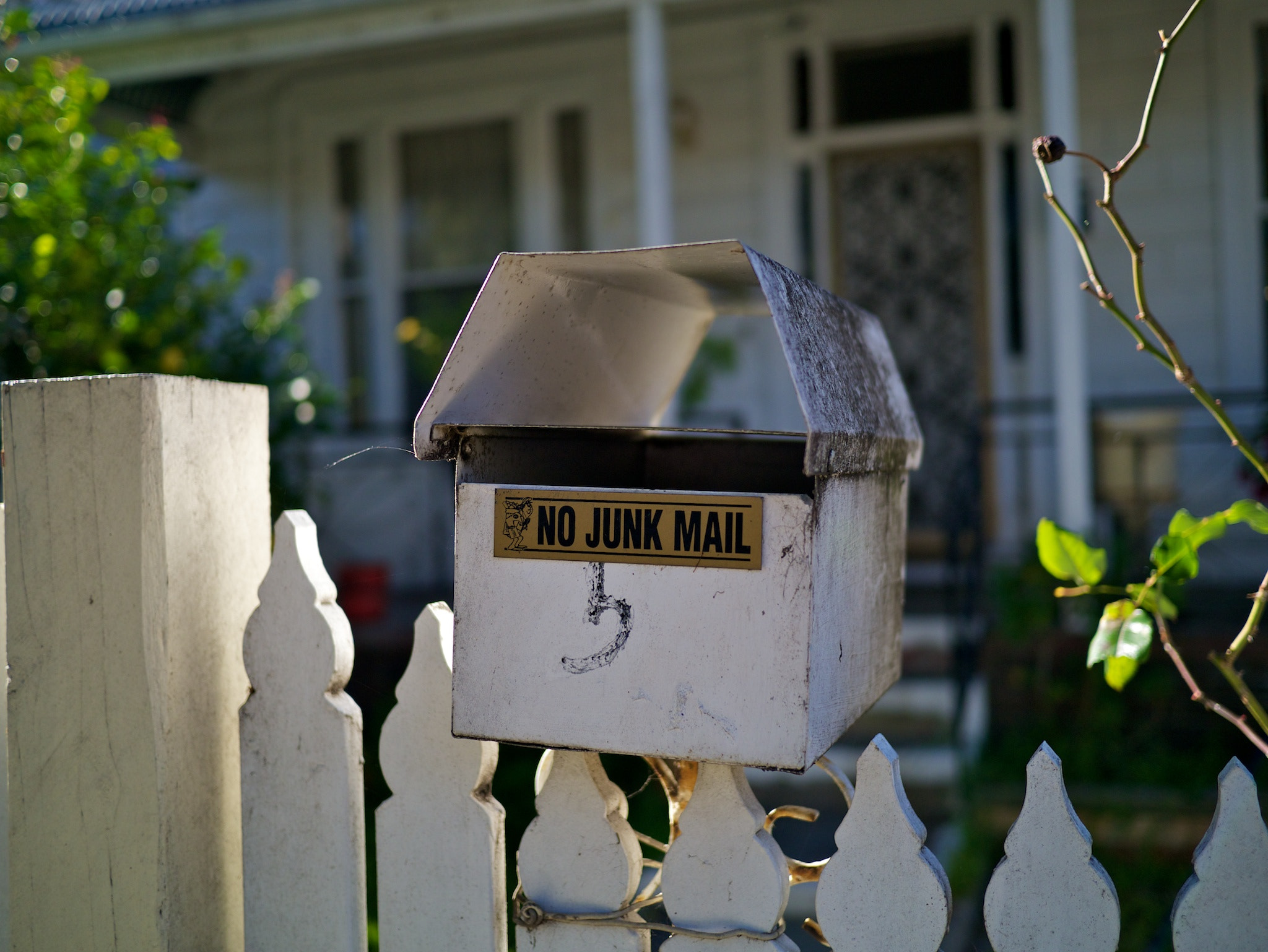 Photograph No Junk Mail by Steve Androulakis on 500px