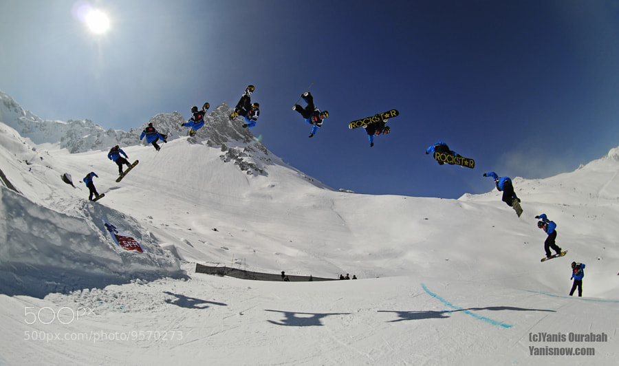 Marko Grilc / Winter X Games Europe by Yanis Ourabah (yanisourabah) on 500px.com