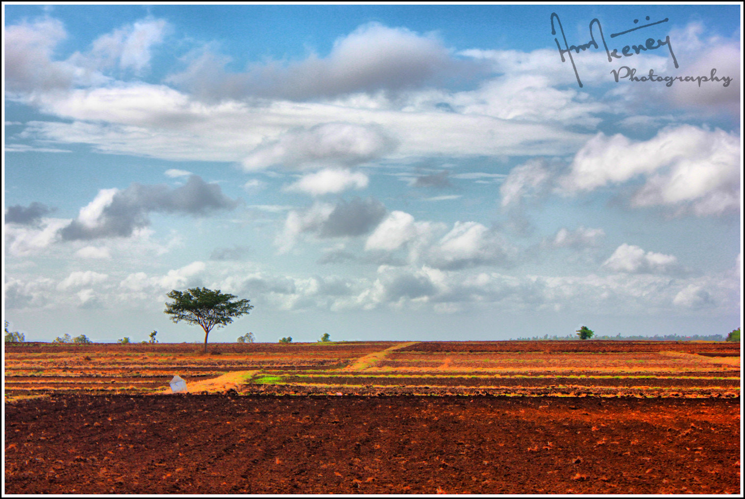 Photograph fields ready for plantation... by Amit Keney on 500px