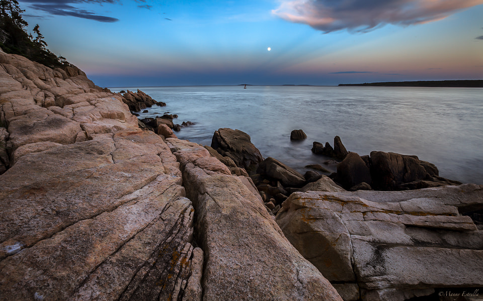Photograph Early Moon by Manny  Estrella on 500px
