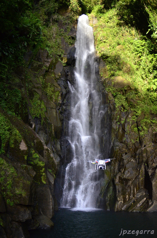 Photograph Drone with waterfall by Keri Wilk on 500px