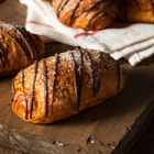 Постер, плакат: Homemade Chocolate Croissant Pastry