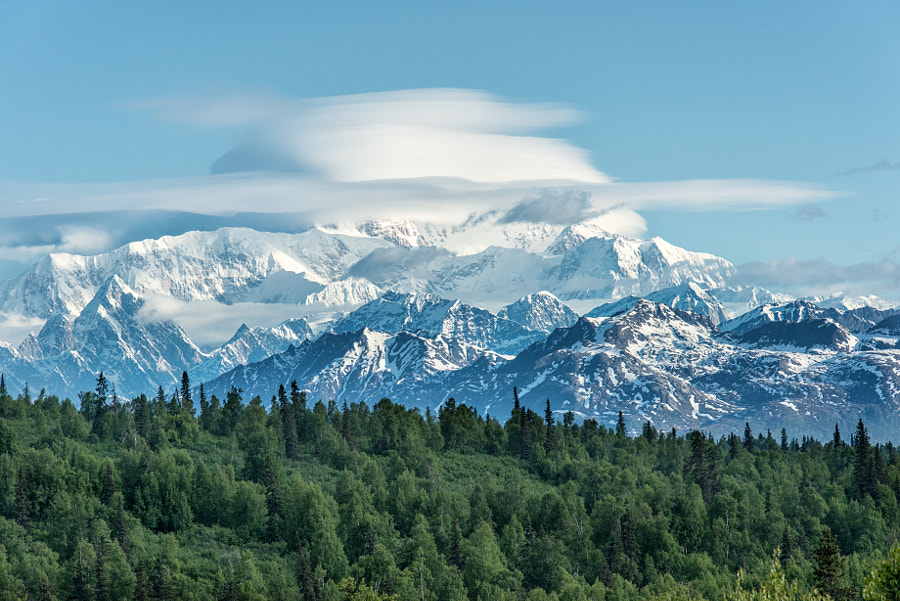 Denali in the Clouds by Gib Bishop on 500px.com