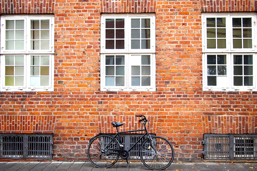 Photograph bicycle, Copenhagen by parentheticalpilgrim on 500px