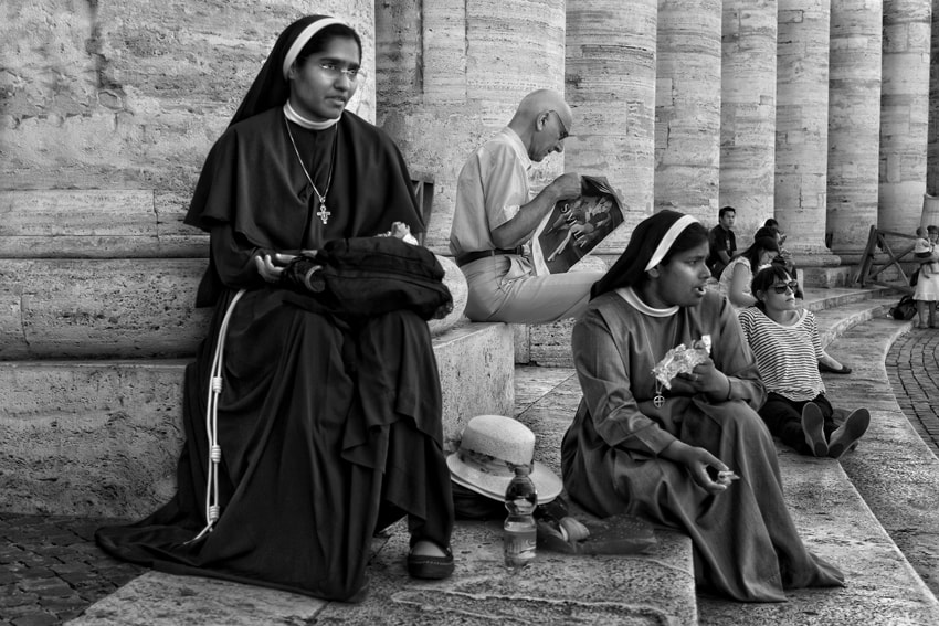 Photograph Breakfast At The Vatican by mario pignotti on 500px