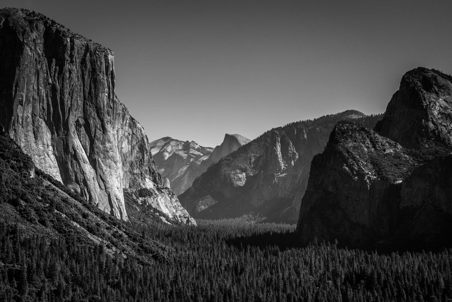 Photograph Yosemite a la Ansel Adams by Dan Montalbano on 500px