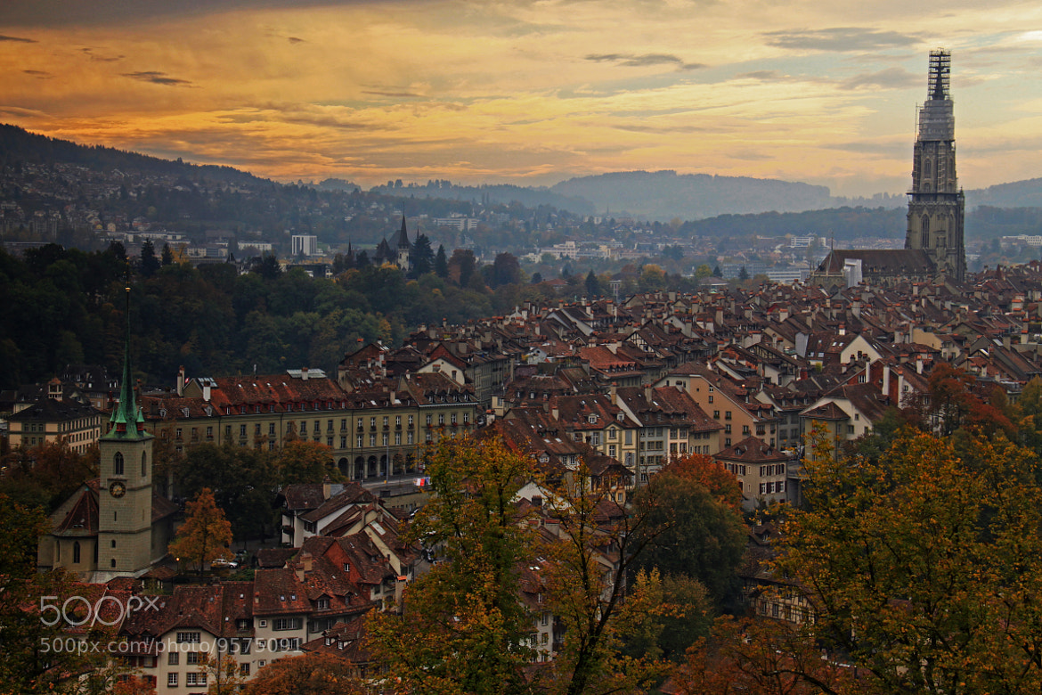 Photograph Bern in Autumn by Jacky CW on 500px
