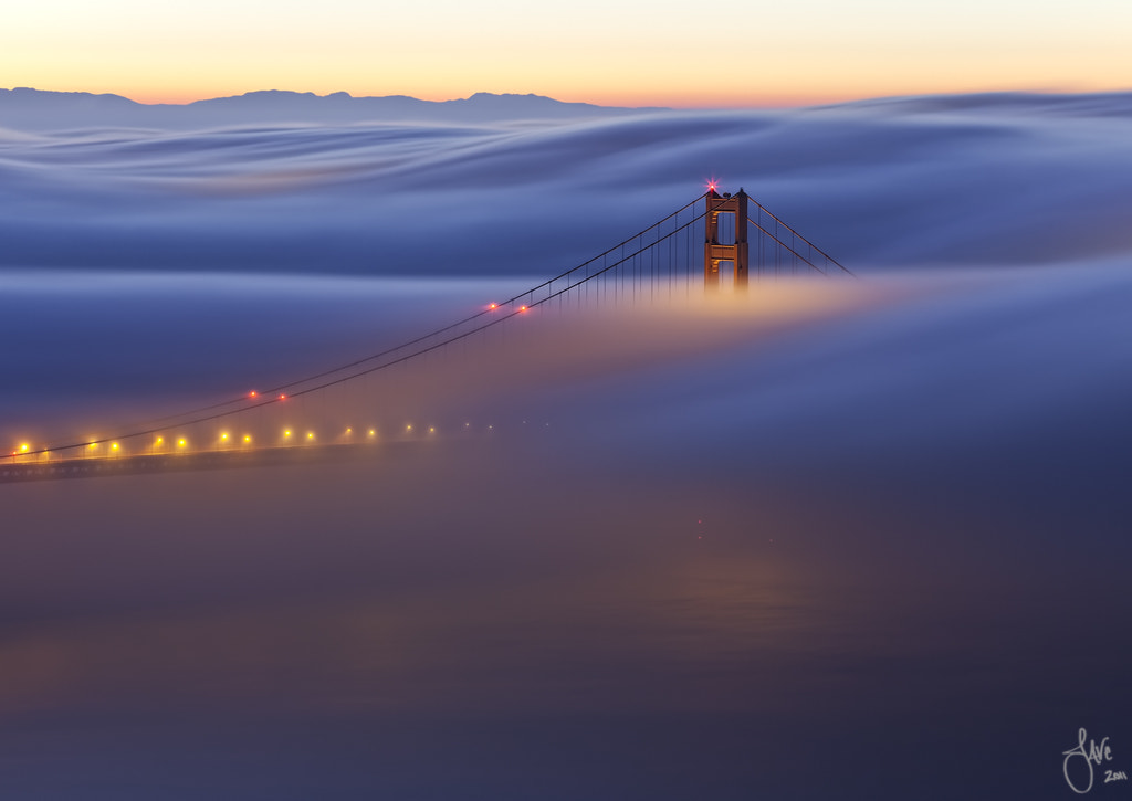 Photograph Under and Alone - Golden Gate Bridge, San Francisco, CA by Javier Acosta on 500px