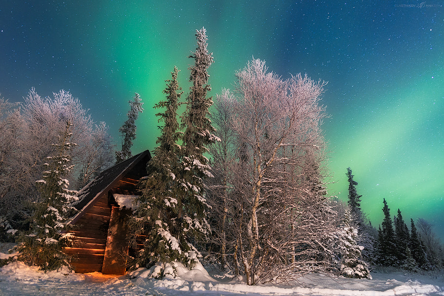 Photograph Northern Lights by Max Slastnikov on 500px